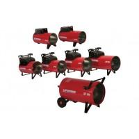 Generator aer cald , mobil ,  cu ardere directa pe GPL , 85M-C , Biemmedue , 03GP106